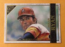 2020 Topps Gallery Nolan Ryan Masters Short Print SP Houston Astros #189