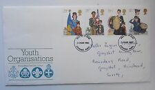 GREAT BRITAIN FDC YOUTH ORGANISATIONS 1982