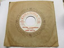 """62' NORTHERN SOUL JIMMY MILLER DEBUT """"MAYBE TOMORROW"""" 7"""" COLUMBIA 4-42415 NM-"""