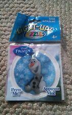 000 NIP Light Up Yazzles Badge Peel & Stick Disney Fozen Olaf