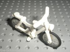 Vélo blanc Lego white Bicycle ref 4719c01 / set 6301 9389 7498 66428 66388...
