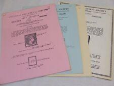 Hellenic Philatelic Soc Of America News Bulletin 1960s