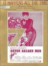 """Vintage Sheet Music """"It Happens All the Time"""" from """"Seven Golden Men"""""""