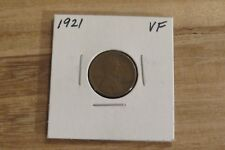 1921 Lincoln Cent (VF)