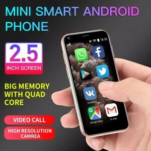 World Smallest 3G 2 SIM Touch Screen Unlocked MINI Mobile Smart Phone Android