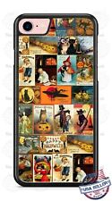 Halloween Vintage Poster Collage Phone Case Cover For iPhone Samsung LG Google