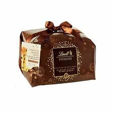LINDT | Panettone 1000gr Con Gocce di Doppio Cioccolato al Latte e Fondente