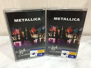 Metallica S&M With Michael Kamen San Francisco Symphony Orchestra Cassette Tape