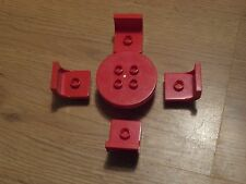 LEGO Duplo - 4 chaises et 1 table en Rouge-GMT57