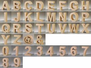 PappArt Buchstaben Zahlen, & und @ aus Pappe  17,5 cm hoch *Auswahl