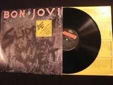 BON JOVI - Slippery When Wet - 1986 Vinyl 12'' Lp./ Shrink Exc./ Hard Rock Metal