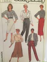 Simplicity Sewing Pattern 7707 Ladies Misses Skirt Pants Culottes Size 16-20 UC