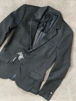 "DIESEL MEN'S BLACK ""J-KEANE-A"" JACKET BLAZER COAT - 46 (SMALL) - NEW & TAGS"
