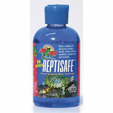 ZooMed Reptisafe Reptile Tap Water Conditioner 125ml Aquatic Amphibian Turtle