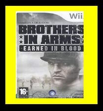 Brothers in Arms Earned In Blood Nintendo Wii PAL Brand New