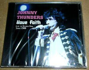 Johnny Thunders - Have Faith / CD / 1996 / OVP Sealed / UK / Live New York Dolls