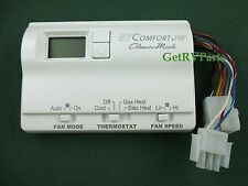 Coleman 6536A3351 Digital AC Air Conditioner Heater Wall Thermostat White
