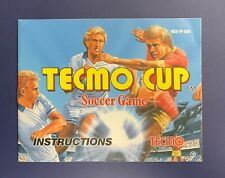 Nintendo NES Manual / Instruction Booklet - Tecmo Cup Soccer - No Game Freeship