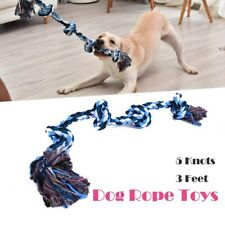 Dog Rope Toys for Aggressive Chewers Tough Rope Chew Toys Large and Medium