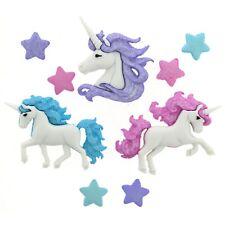 Unicorn Boutons-Star-Bouton de conte de fées Fantasy Cheval-Paillettes-Minions