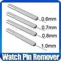 New 0.6mm 0.7mm 0.8mm 1.0mm Pin Punch Watch Band Strap Bracelet Link Remover