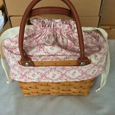 FABRIC LINER ONLY Horizon of Hope for Small Boardwalk Longaberger New NO BASKET