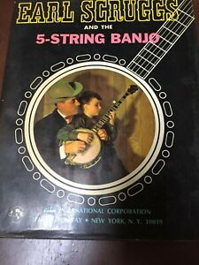 Earl Scruggs And The 5 String Banjo 1968 Music Instruction Book