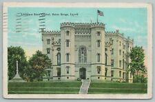 Baton Rouge Louisiana~State Capitol Building~Vintage Postcard