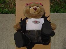MAKE OFFER,,,,,,,,,,,,,,,,,, HARLEY DAVIDSON 100TH 100 ANNI OPEN ROAD TEDDY BEAR
