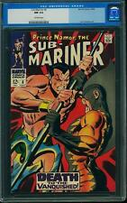 CGC (MARVEL) SUB-MARINER # 6 NM 9.4 OW 1968 0027826003