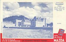 Buvard Vintage  La Pile Mazda  Château de Villandry