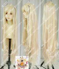 vocaloid3/SeeU Fluffy slightly curled long cosplay Wig 120CM