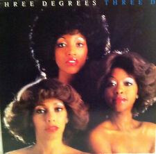 THREE DEGREES THREE D VINYL RECORD LP