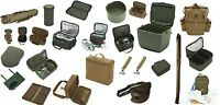 Trakker Carp Luggage Full Range * Cool Stiff Rig Buzz Bar PVA Bag * Pay 1 Post