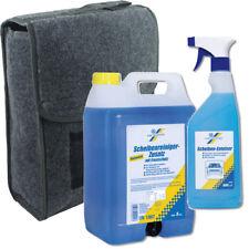Cartechnic Frostschutz Konzentrat 5L -60°C + Scheibenenteiser + Kofferraumtasche