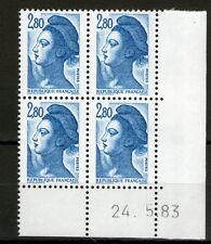 TIMBRE N° 2275 NEUF XX LUXE - COIN DATE DU 24-5-83 - LIBERTE DE GANDON (3)