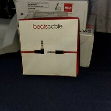 Beats by Dr. Dre Audio Cable - MHE12G/A - Red