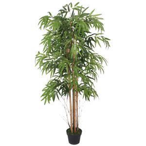 Bambus Kunstpflanze Künstliche Pflanze 150cm Decovego
