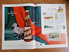 1941 Schlitz Beer Ad Most Diostinguished Beer 1941 Shell Oil Gas Ad Navy Planes