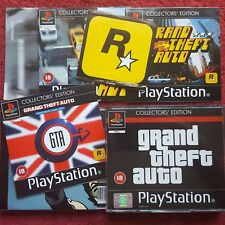 GRAND THEFT AUTO COLLECTOR'S EDITION  ORIGINAL SONY PLAYSTATION PS1 PS2