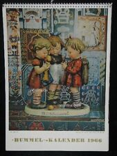 "Goebel Hummel Kalender Calendar 1966, Titelbild ""'s Meisterstück"" 177"