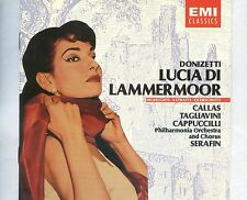 CD MARIA CALLAS luciadi lammermoor HOLLAND 1986 NEAR MINT