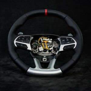 DODGE HELLCAT CHALLENGER CHARGER 2015-19 OE MOPAR custom steering wheel DEMON