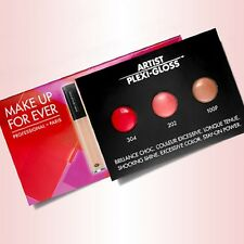 Make Up For Ever Artist Acrylip #202 #401 #501 Trial Bubbles NEW!