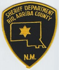 **RIO ARRIBA COUNTY NEW MEXICO SHERIFF POLICE PATCH**