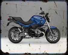 Bmw R1200R 14 1 A4 Metal Sign Motorbike Vintage Aged