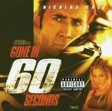 Gone In 60 Seconds - Original Sound Track (NEW CD)