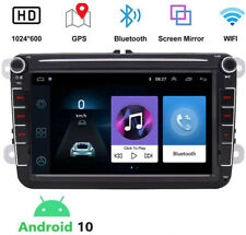 Android 10 Touchscreen Car Stereo Radio Bluetooth WIFI GPS For Amarok Beetle VW