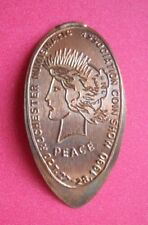 Rochester Coin Show elongated penny Ny Usa cent 1990 souvenir coin Peace