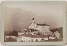 Original 1890er J. Kab.Karte SCHLOSS AMBRAS bei Innsbruck, Tirol